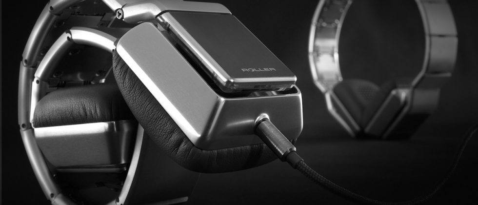 Luzli Roller headphones feature 13 folding links, $3k price tag