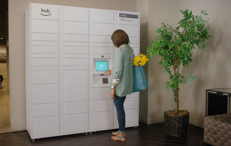Amazon 'The Hub' brings delivery lockers to apartment complexes