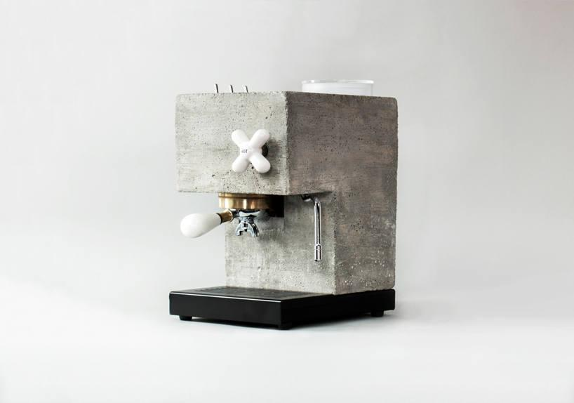 This espresso machine is made from concrete (and it's not the first)