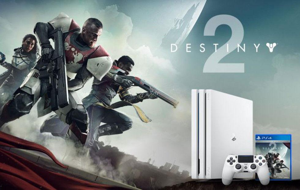 You can now pre-order a Limited Edition Destiny 2 PS4 Pro bundle