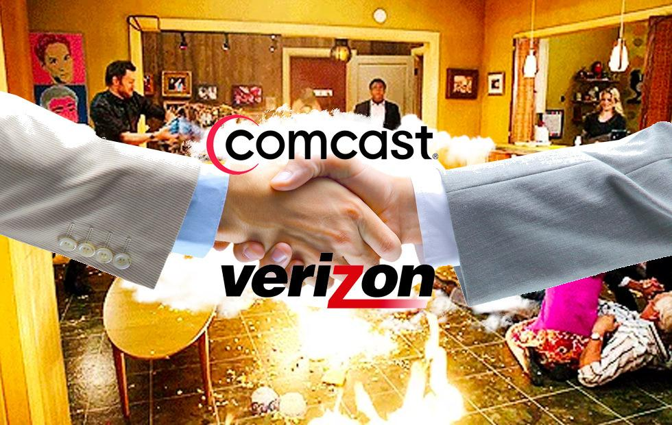 Comcast Verizon merger would truly be the darkest timeline