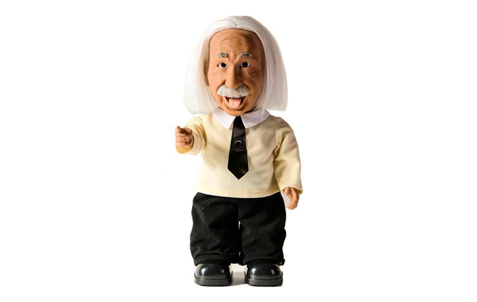 Professor Einstein robot is your own personal teacher