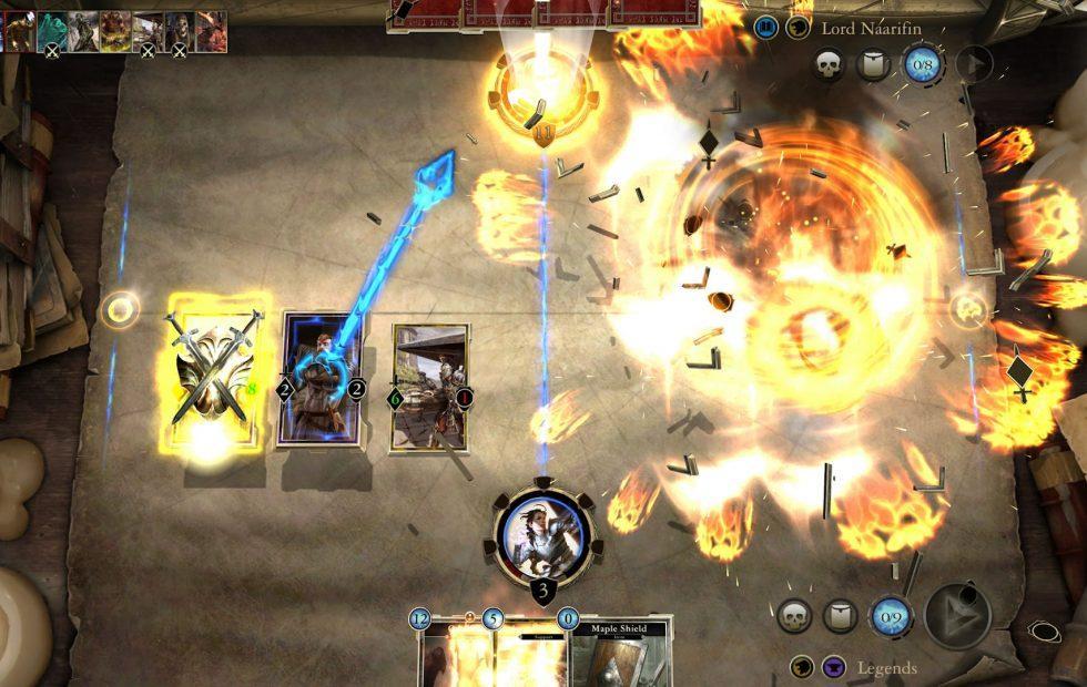 Elder Scrolls Legends released today (mobile download)