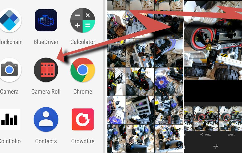 Android Gallery app: for those that don't like Google Photos