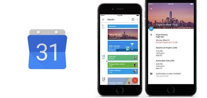 Google Calendar finally supports iOS Today Widgets