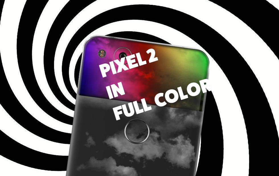 Google Pixel XL 2 2017: Playing with release colors