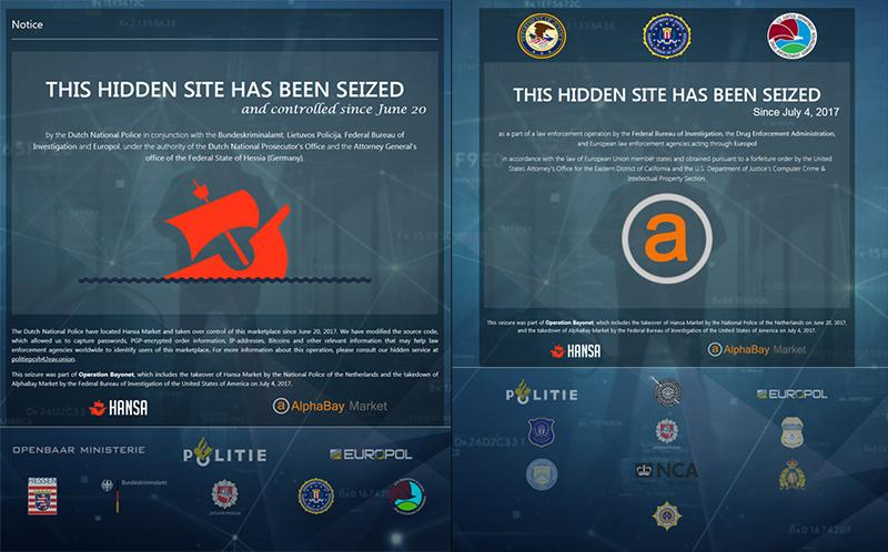 Dark Web marketplaces worth billions crushed in secret takeover