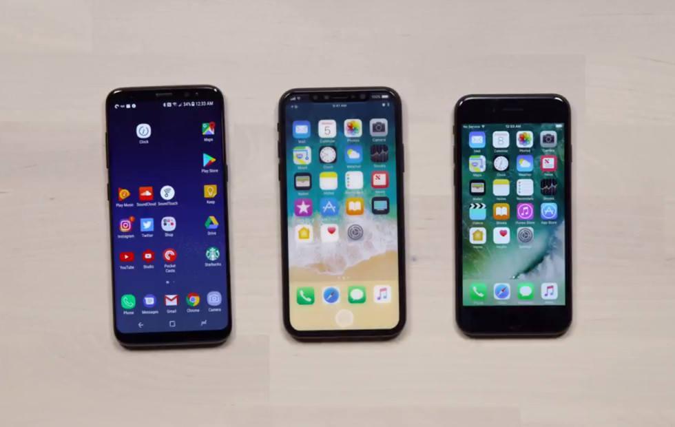 iPhone 8 prototype puts screen in perspective