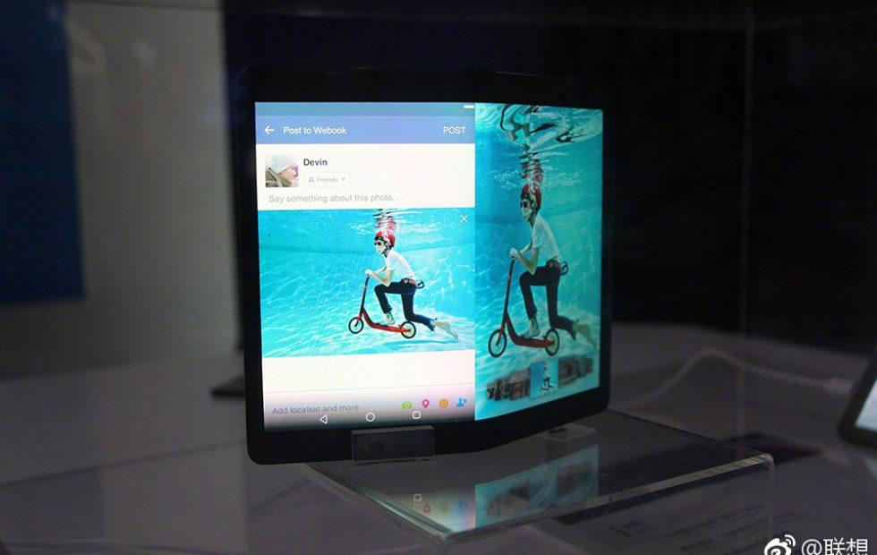 Lenovo foldable Android tablet shown off again