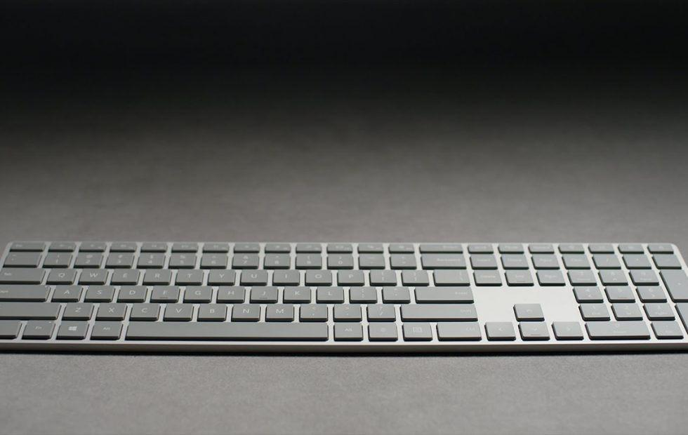 Microsoft Modern Keyboard now available with hidden fingerprint sensor