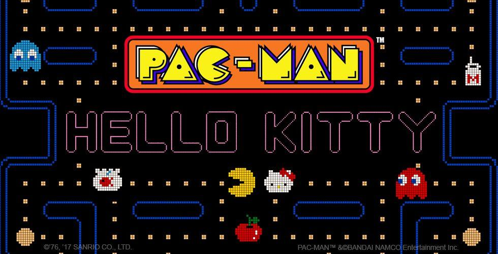 Hello Kitty's Pac-Man invasion begins today on iPhone and Android