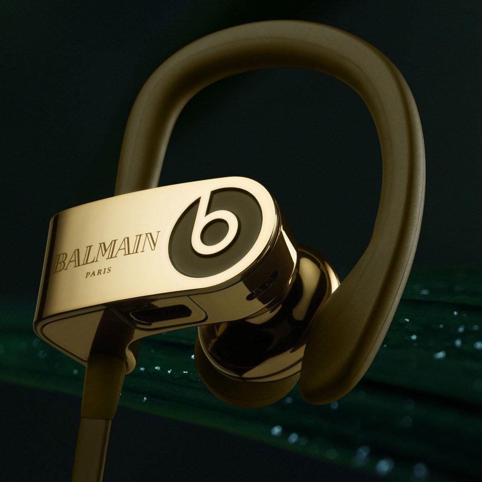 736bb5b6ffa Beats Balmain Collection – rebranded Studio, Powerbeats headphones ...