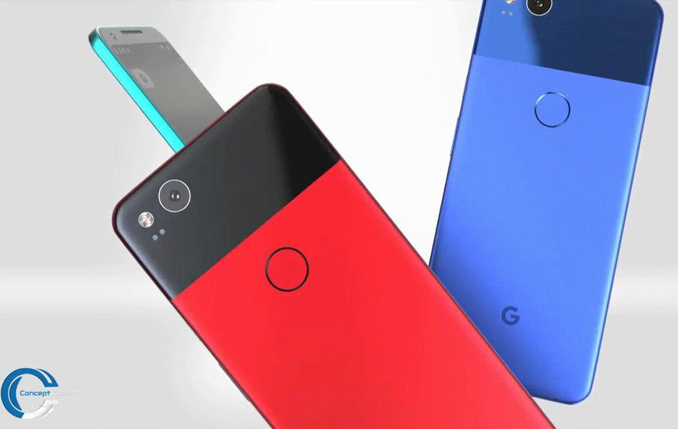 Pixel XL 2 concept video will leave your mouth watering