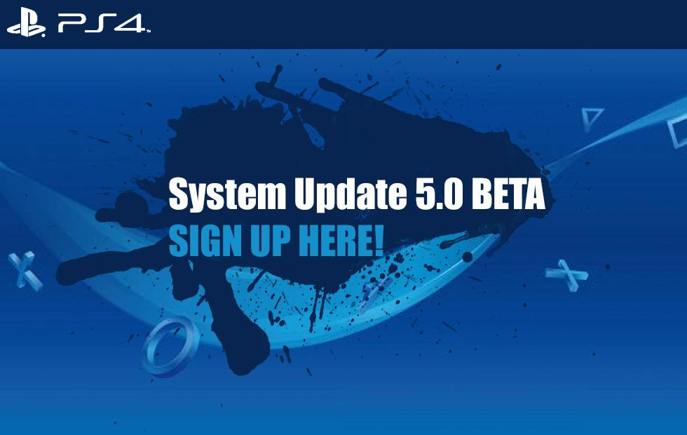 PlayStation 4 5.0 Beta System Update: How to get this game-changer
