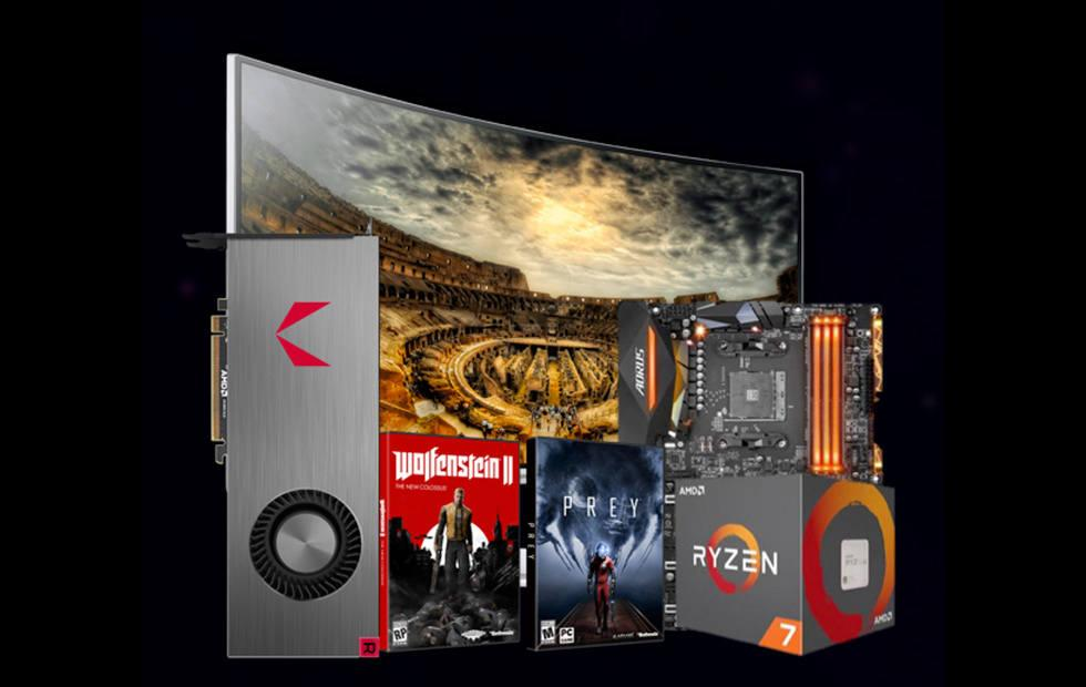 AMD RX Vega cards and packs: air and water, up against 1080