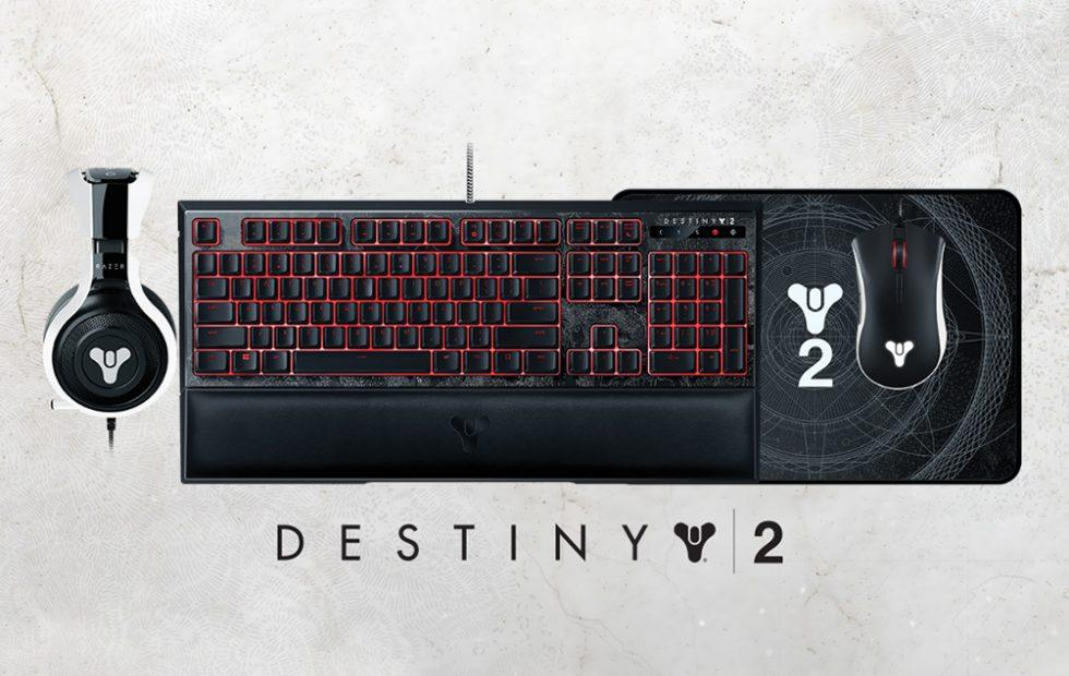 Razer Destiny 2 peripherals collection is made for PC gamers