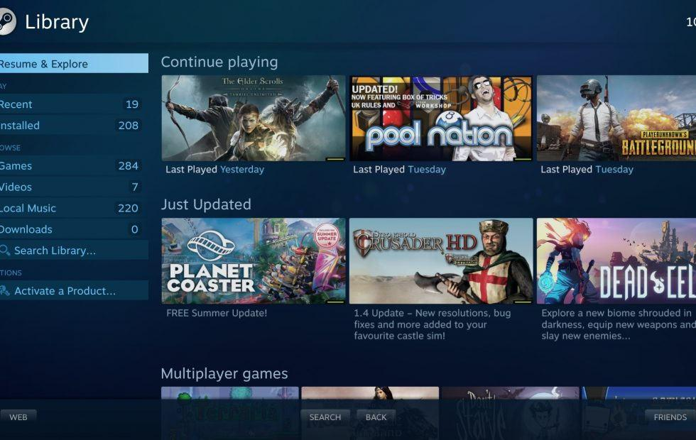 Steam Link app beta test launches for some Samsung Smart TVs
