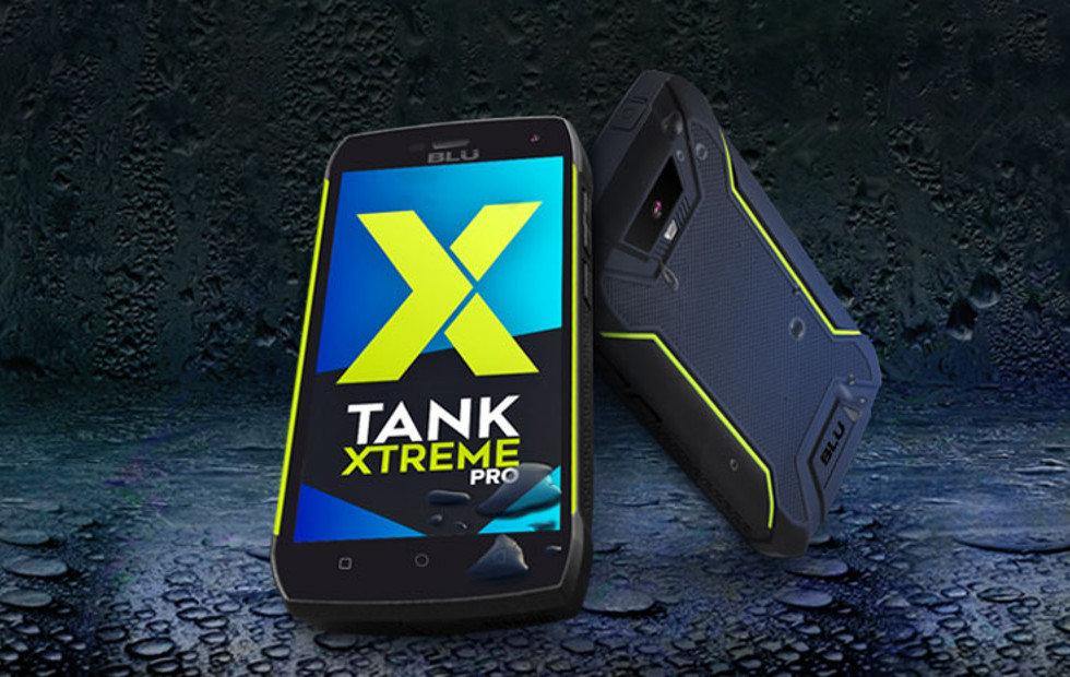 BLU Tank Xtreme Pro takes ruggedness a step higher