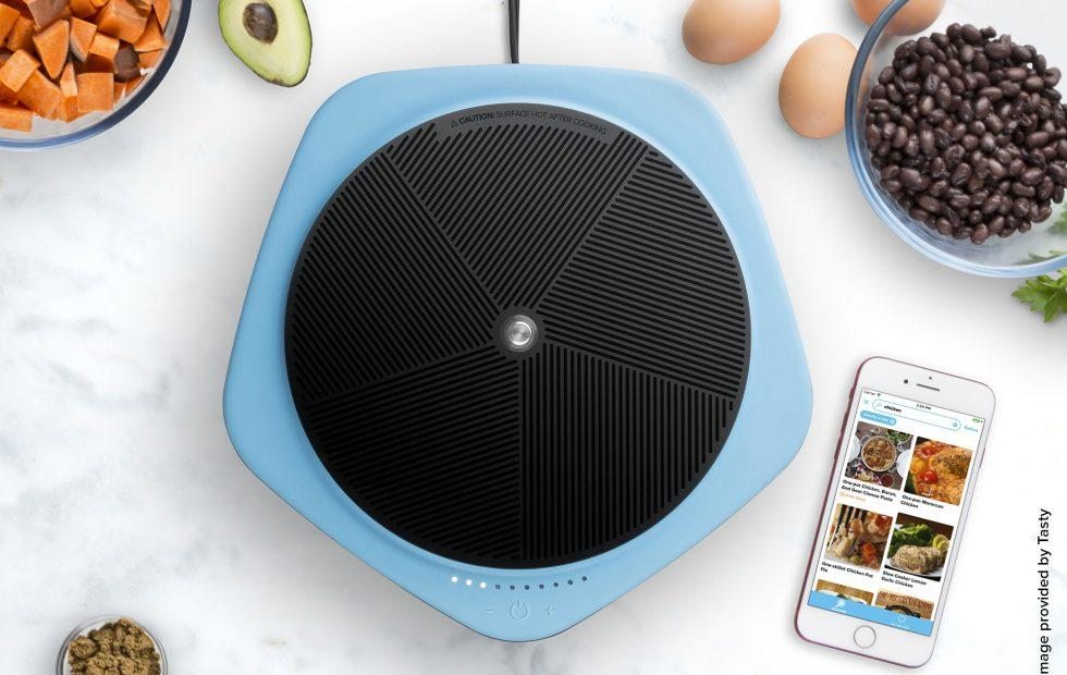 Tasty One Top smart cooktop works with companion recipe app