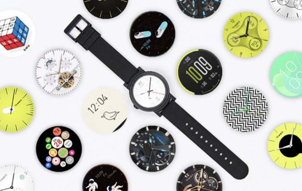 Mobvoi Ticwatch S & E is a more conventional Android Wear watch
