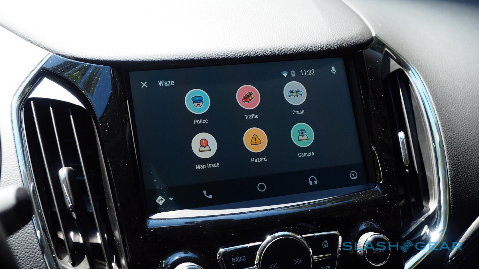 Waze Android Auto hands-on: The reason for Android-in-the