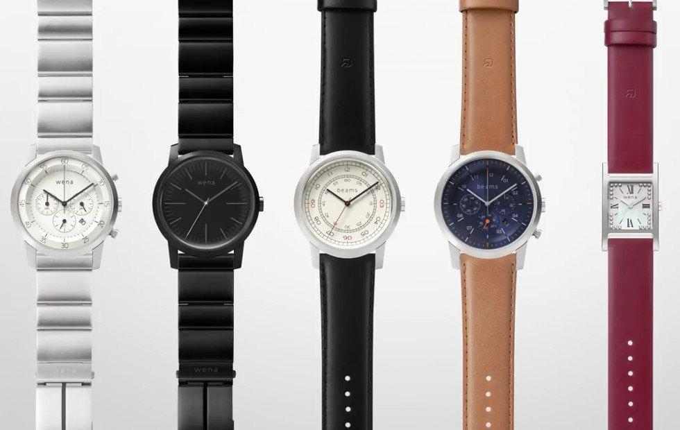 "Sony to finally launch wena ""smart"" watch bands in leather, steel"