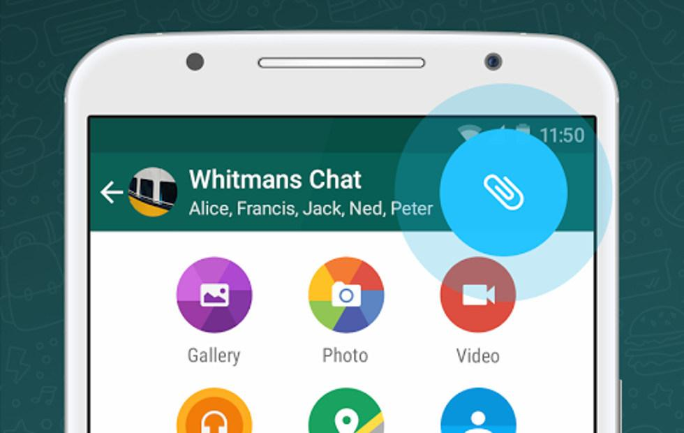 You can now send any file you want in WhatsApp