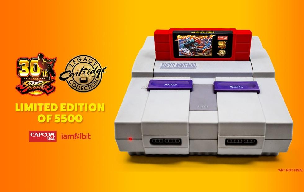 Street Fighter 2 30th anniversary SNES cartridge is the real thing