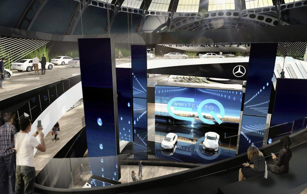 This is Mercedes' EQ compact city EV concept