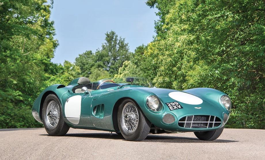 1956 Aston Martin DBR1 sells for record-setting $22.5M