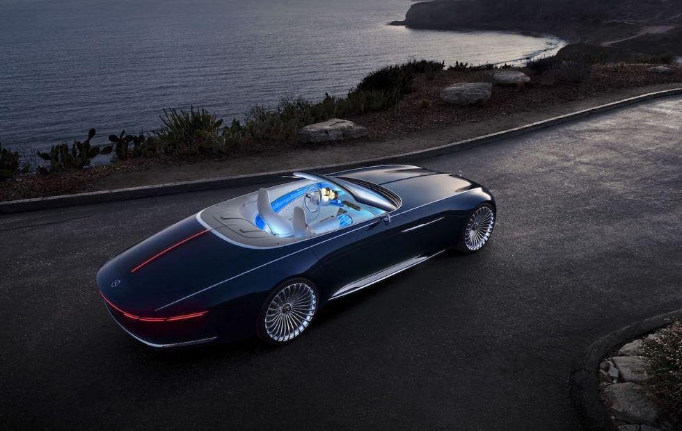 Vision Mercedes-Maybach 6 Cabriolet is 20 feet of electric drop-top luxury