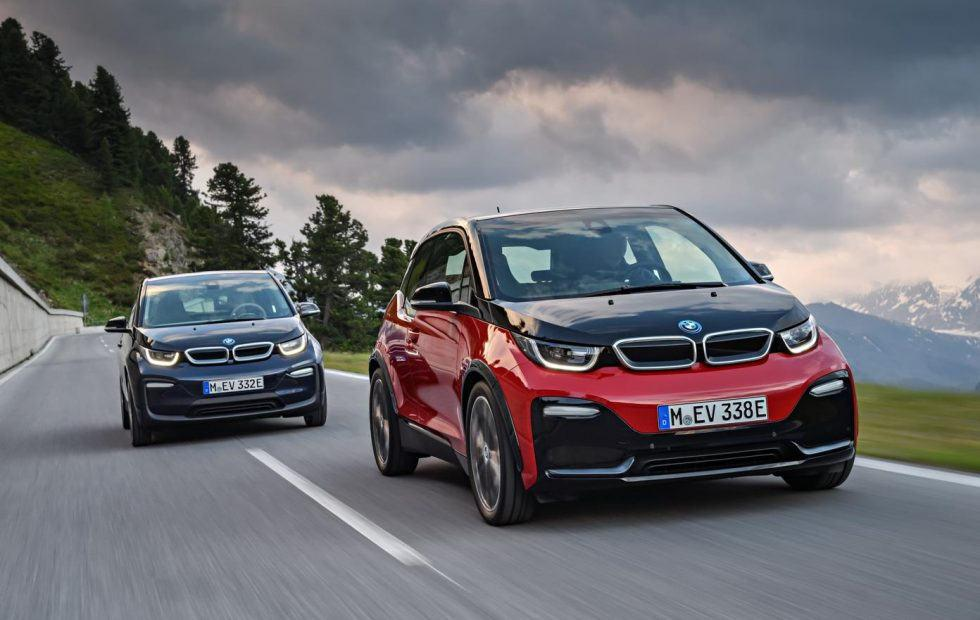 BMW unveils first ever i3s with sporty style and more power