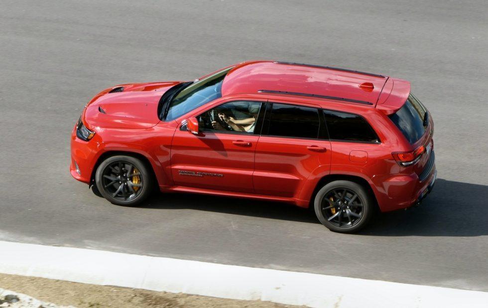 2018 Jeep Grand Cherokee Trackhawk Gallery