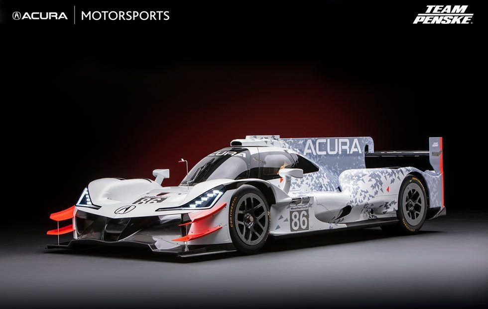 Acura's ARX-05 prototype racer to tear up Daytona