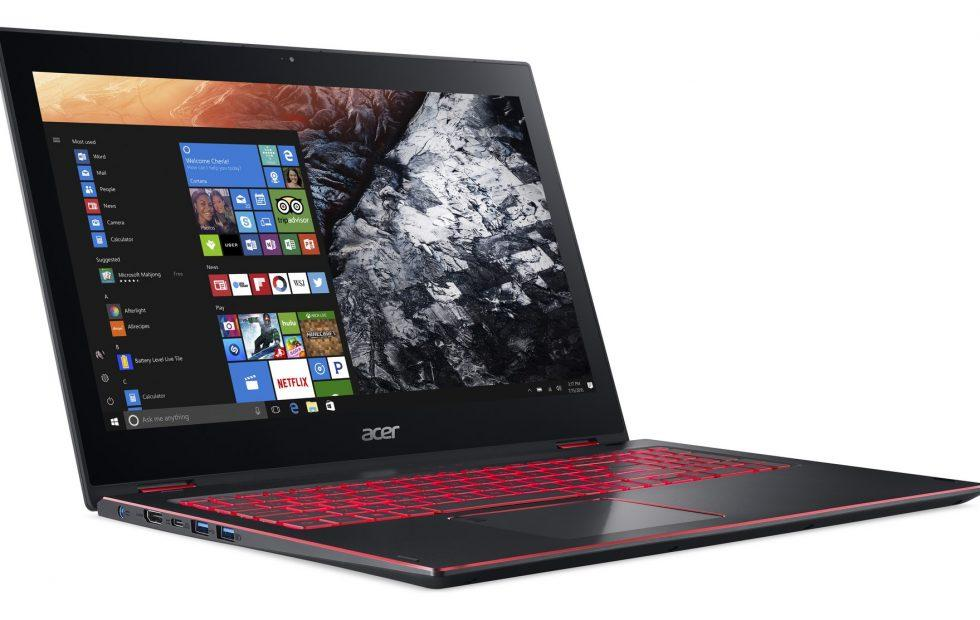 Acer Nitro 5 Spin: Intel 8th-gen Core isn't the most exciting part