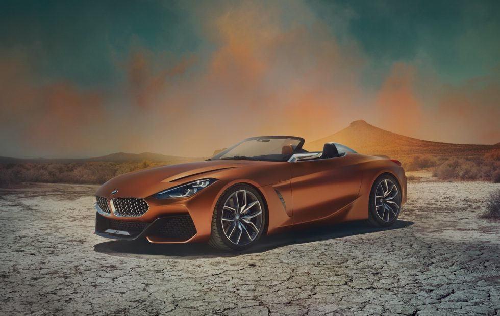 BMW Concept Z4 teases 2018 rear-wheel drive droptop