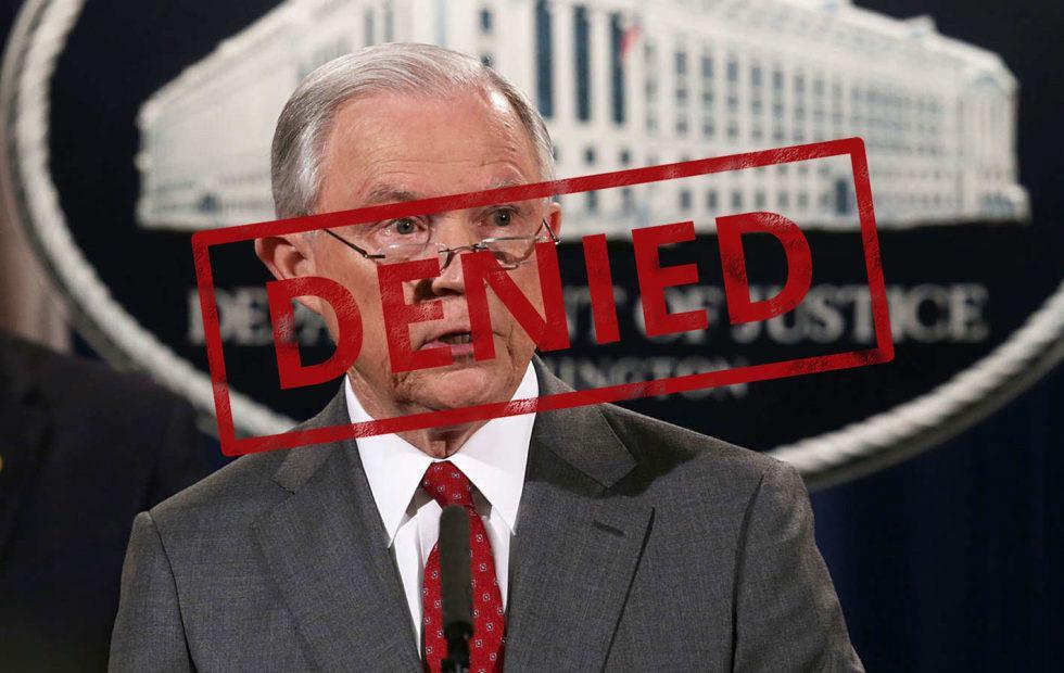 US Justice Dept. demands anti-Trump site visitor logs