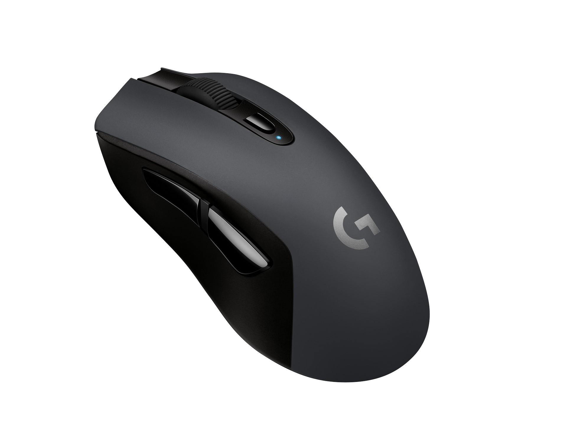 Logitech Lightspeed G603 gaming mouse and G613 keyboard