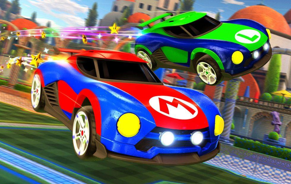 Rocket League's Switch exclusive battle cars revealed