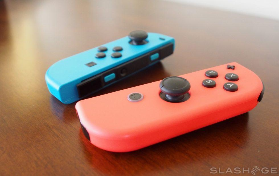 Switch Joy-Con controllers have Nintendo in legal trouble