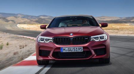 2018 BMW M5 Gallery