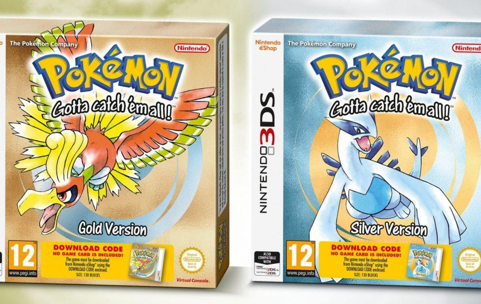 Pokemon Gold and Silver for 3DS will get a physical release (kind of)