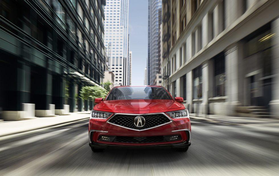 2018 Acura RLX gets new safety tech and a nose job
