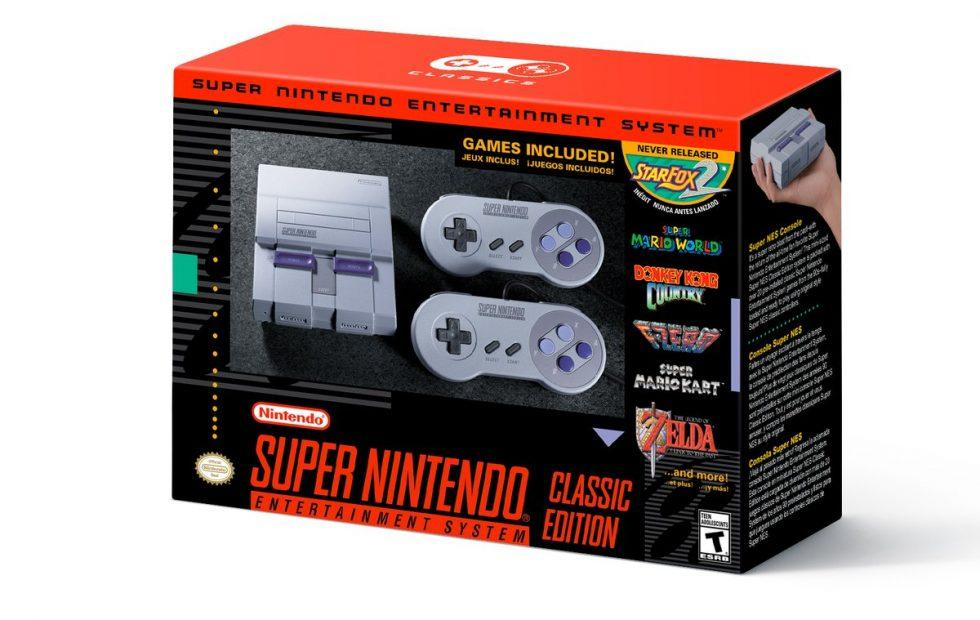 SNES Classic Edition pre-order and launch date confirmed
