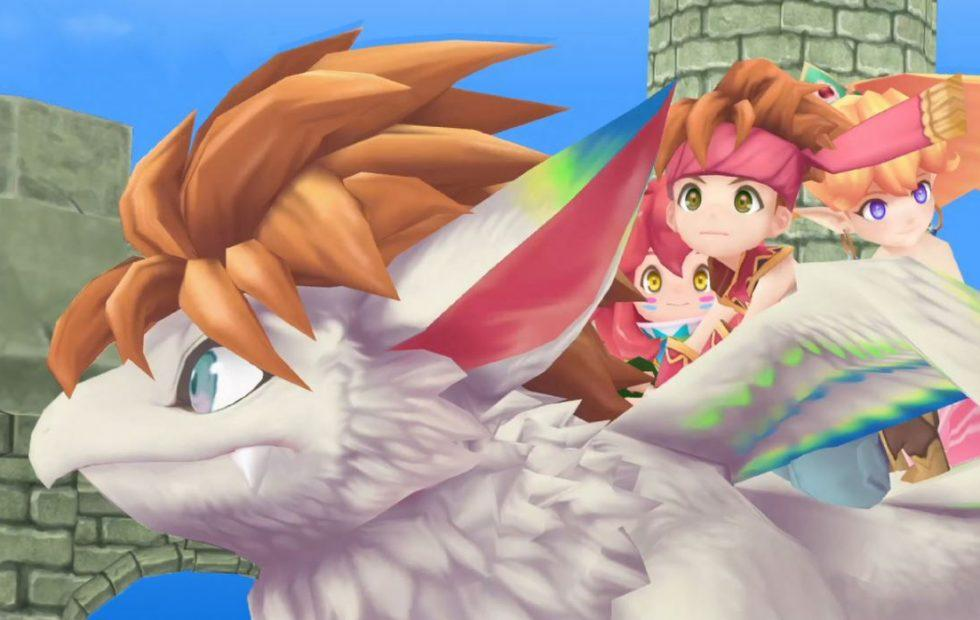 Secret of Mana is getting a full 3D remake next year