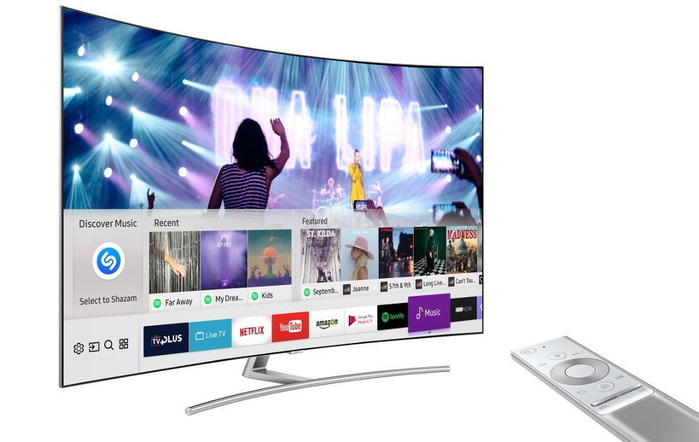 Samsung Smart TVs can now Shazam what's playing on screen