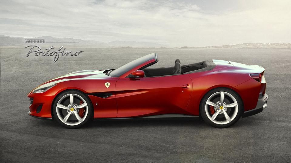 "Ferrari Portofino is, in Ferrari terms, an ""entry-level"" droptop"