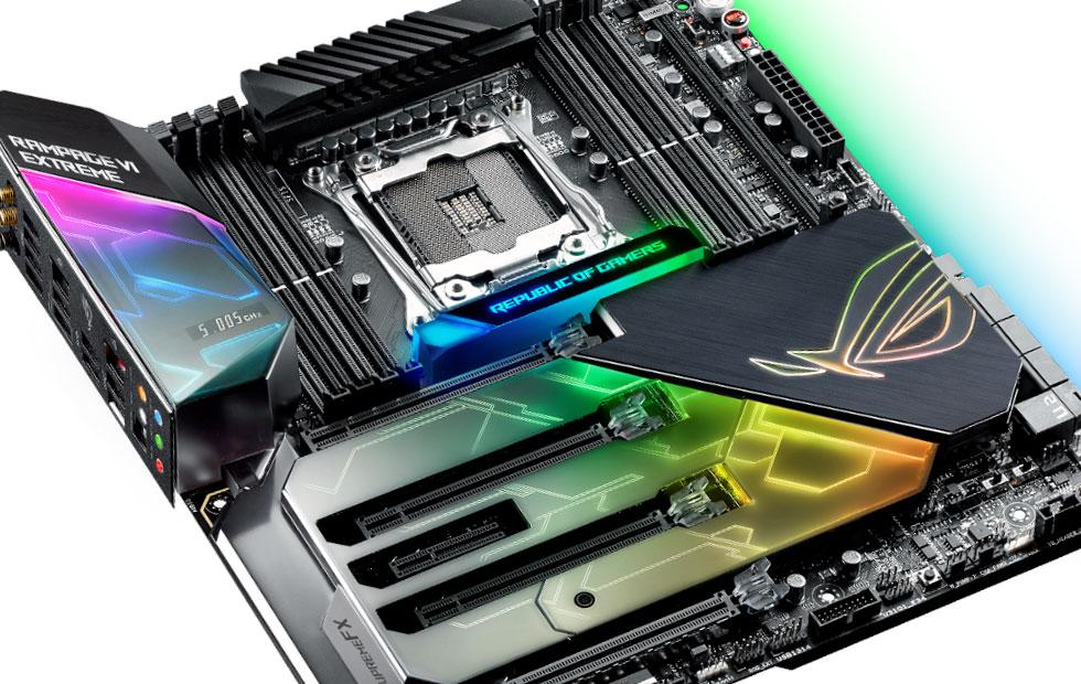 ASUS ROG's new desktops and boards are ready to rip