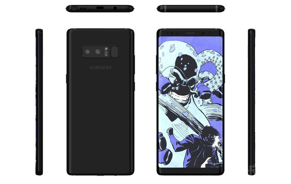 Galaxy Note 8 dual-SIM variant for Europe revealed by