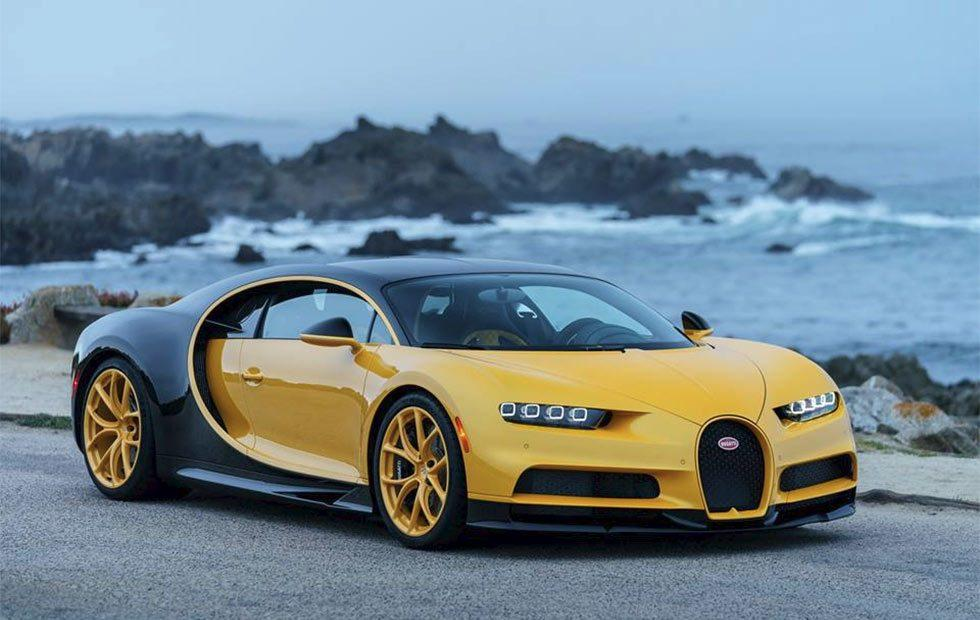 First Bugatti Chiron in the US delivered at Pebble Beach Concours d'Elegance